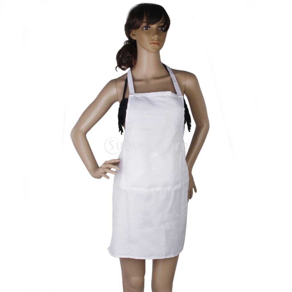 White apron food - White Kitchen Cooking Apron Home Restaurant