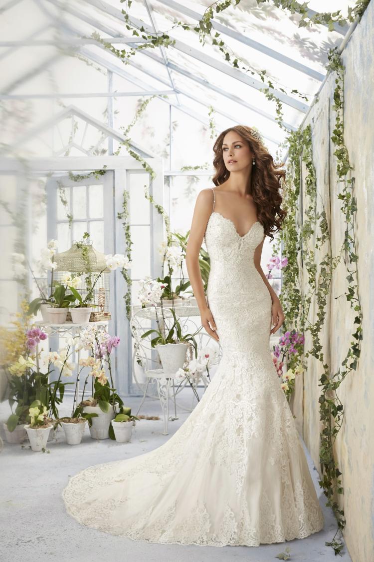 Свадебные платья свадебные платья тюль милая суд поезд аппликации бисероплетение русалка vestido де noiva 2016 № 1279