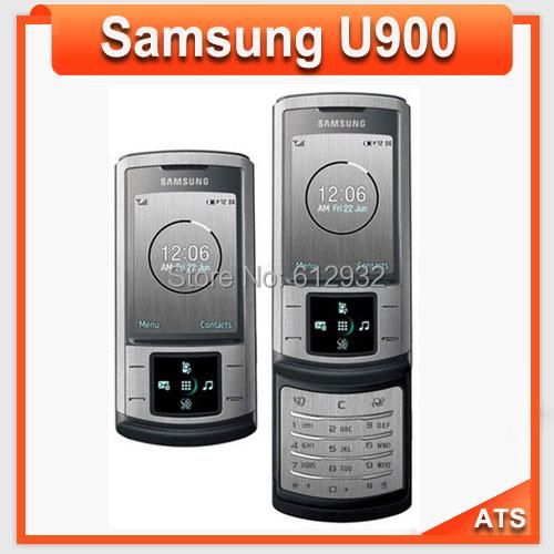 Samsung U900 mobile phone u900 Soul 3G bluetooth mp3 player 5MP Cemera Polish Russian Support Free Shipping(China (Mainland))