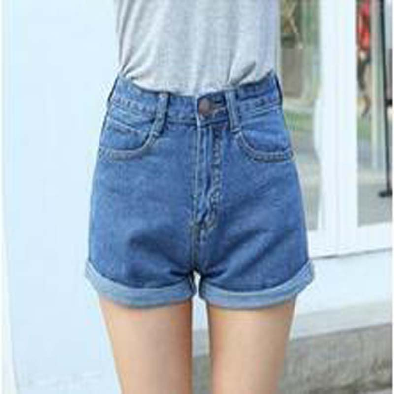 Solid Fashion Simple Shorts Women Casual Cheap Women's High Waist Shorts Good Feeling Free Match Hot Shorts(China (Mainland))