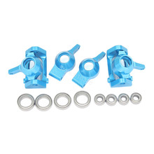 Buy Aluminum Front Rear Steering Hub Base C Carrier Knuckle Upgrade Kit Wltoys A959 A949 A969 A979 K929 1/18 RC Car for $15.64 in AliExpress store