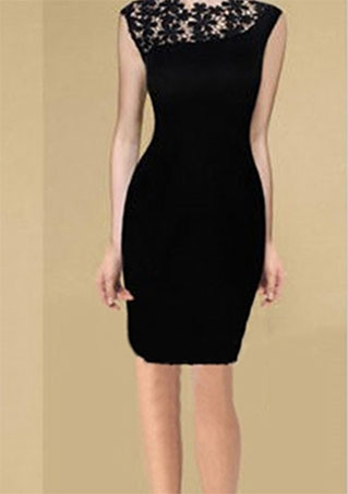 Women Black Lace dress Stretch Wrap Clubwear Cocktail Party Bodycon Pencil Dress S-XL free shipping(China (Mainland))