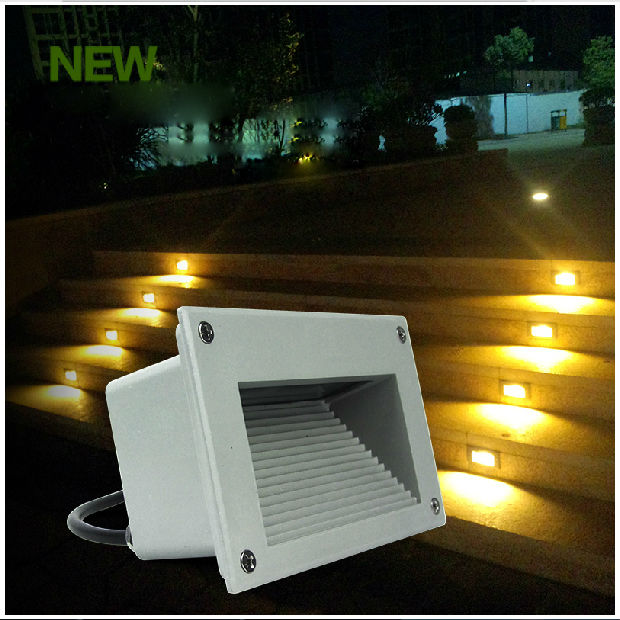 3*1W LED underground light lamps recessed buried floor lamp Waterproof IP54 outdoor Landscape stair lighting AC85-265V 1036<br><br>Aliexpress