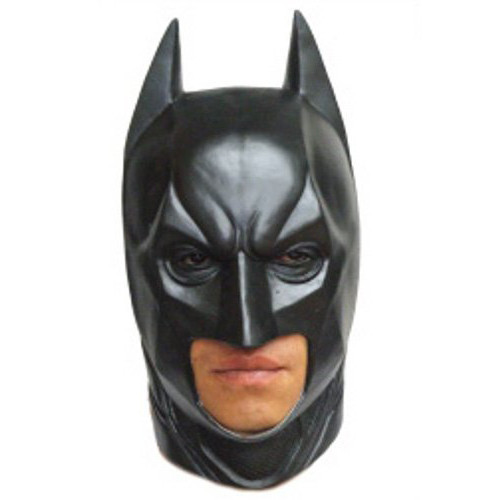 2015 Batman Latex Full Mask Adult Party Toy Props Mascara Carnaval Party halloween mask(China (Mainland))