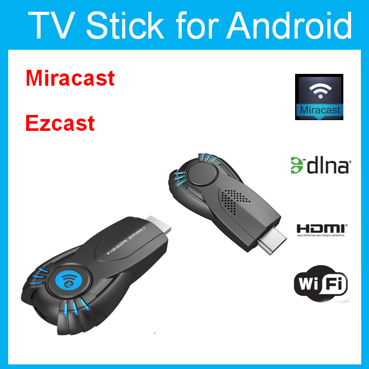 Better than Android TV Vensmile V5ii Best Smart TV Stick Ezcast Miracast Dongle DLNA Airplay MirrorOP For IOS Andriod OS Windows(China (Mainland))