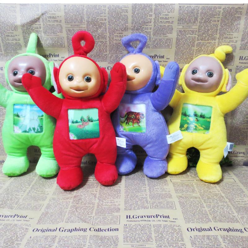 """4Pcs/Set Teletubby Plush Toy Teletubbies 10"""" Plush toy(China (Mainland))"""