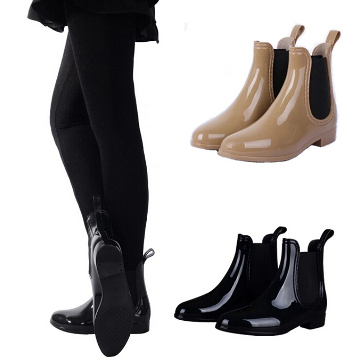 Short Rain Boots For Women - Cr Boot