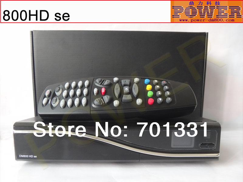 Envío gratis vía hdl, venta al por mayor tv digital receptor sintonizador de cable dm800se, o digital decodificador DM 800se-c con sim 210(Hong Kong)