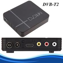 DVB T2 Terrestrial Receiver DVB-T DVB-T2 MPEG-2/-4 H.264 Support USB/HDMI Mini Set Top Box For RUSSIA/Europe/THAILAND