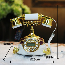 Free shipping new classical European luxury villa model room decorative handicrafts practical telephone Decoration housewarming