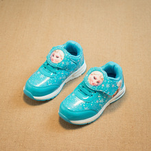 Mädchen Schuhe 2016 Frühling Cartoon Kinder Kinder Turnschuhe Trainer Schuhe für Mädchen wasserdichte Sport Freizeitschuhe Mädchen Schule Schuhe(China (Mainland))