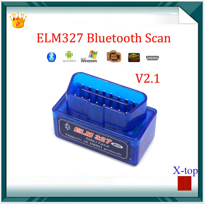 Super Mini elm327 ELM327 Bluetooth USB V2.1 OBD2 OBDII auto motor vehicle Car Scanner Bluetooth ELM 327 Diagnostic Scan Tool(China (Mainland))