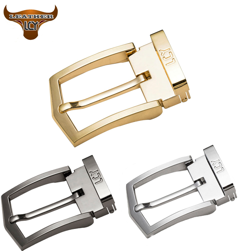 [LCY] Brand New Fashion High Quality belt Pin Buckle Brand Custom Accessories Solid Alloy Pin Buckle for Leather Belt A44-26(China (Mainland))
