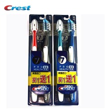 Seven Effect Crest Toothbrush ( 1+1) Crest America Imported Genuine Special Tooth Brushes 2 packs(China (Mainland))