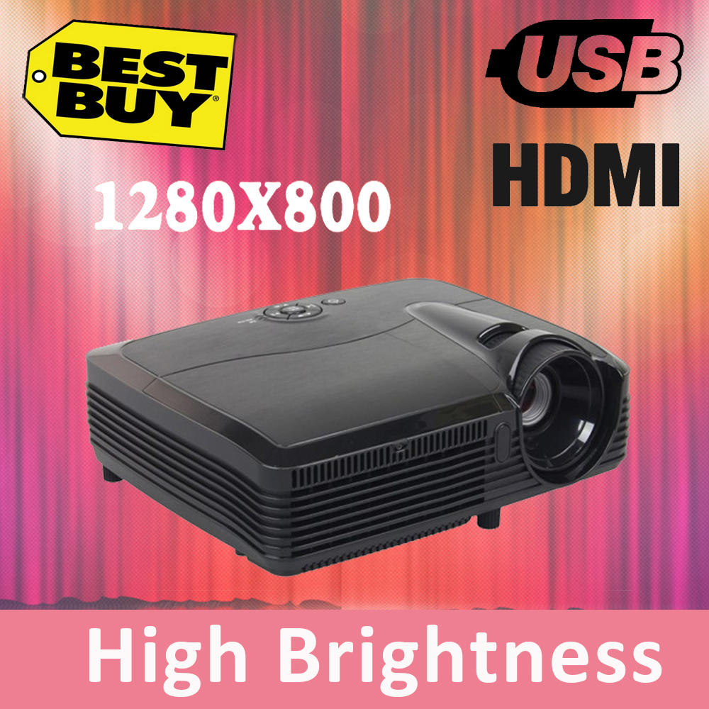 4000 lumens smart lcd tv led projector full hd accessories 1280x800 3d home theater projetor video proyector beamer(China (Mainland))