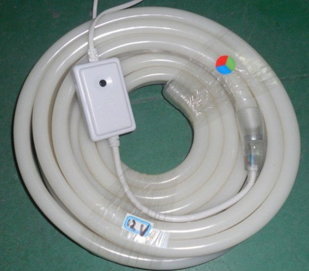 5m DC12V input led neon flexible,/4-wired with 3 color(RGB);Size:13*26mm;120LEDs/m<br><br>Aliexpress