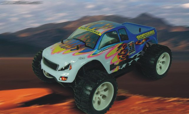 HSP 94111 1/10th Scale Electric Powered Off Road Monster rc car model P2<br><br>Aliexpress