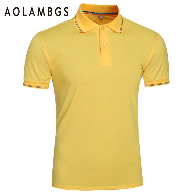 Men Polo Shirt Fashion Solid Color Business Polos 2016 Fashion Casual Short Sleeved Sporting Cotton Polo Camisa Plus Size M-3XL(China (Mainland))