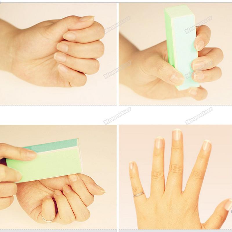 Buffing Manicure Manicure Shiner Buffing