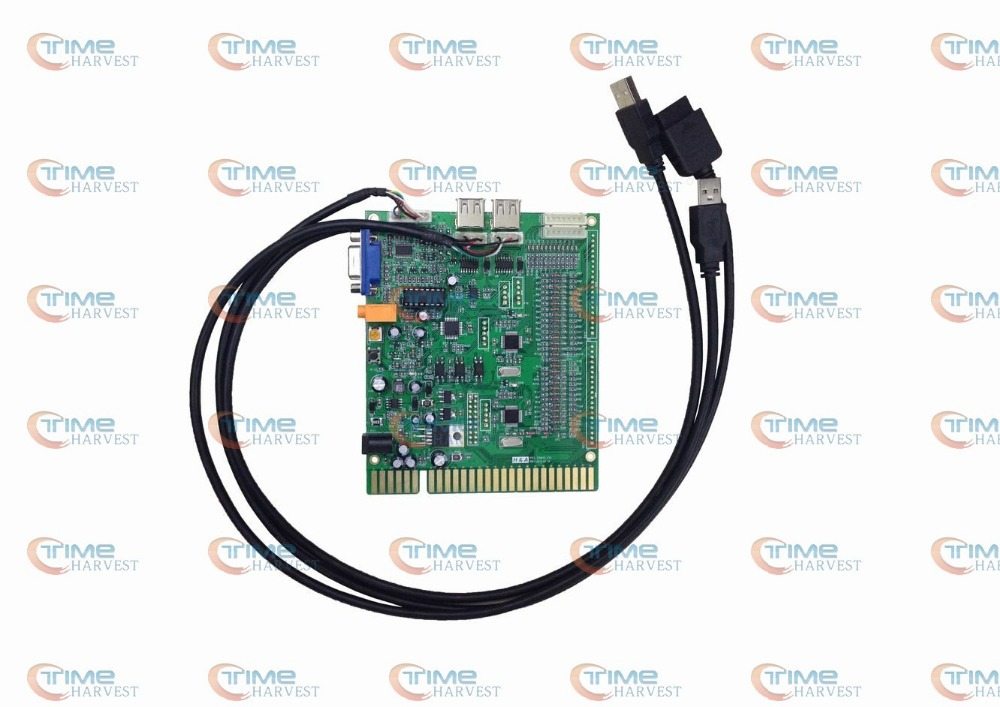 New arcade PS3 timer control board use the JAMMA button & Joystick by timer mode for VGA arcade game machine LCD monitor cabinet()
