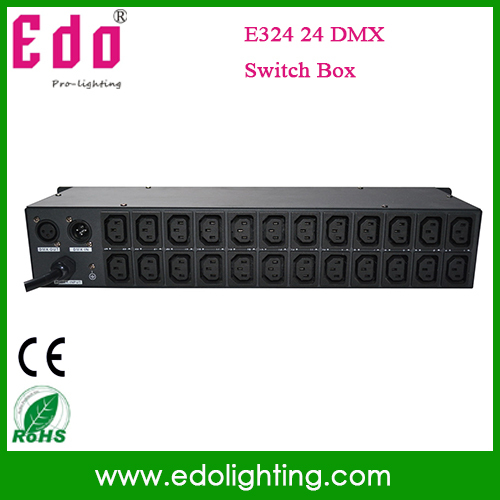 2015 Sale New Line Array Batedeira Woofer Wholesale 24 Dmx Switch Box 512dmx Controller Stage Light(China (Mainland))