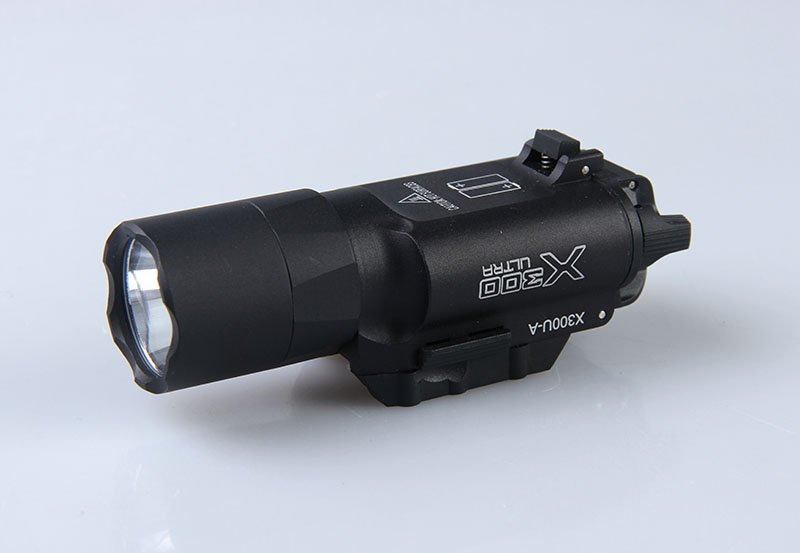 Surefire style X300 Ultra LED Weapon Light Fits handguns with Picatinny or Universal rails for rifle scope for hunting(China (Mainland))