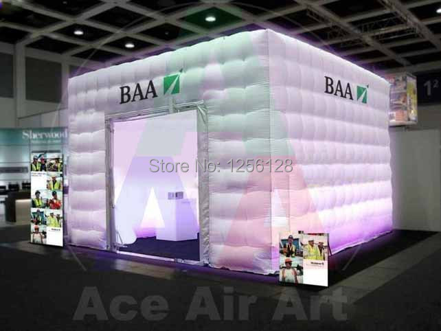 Portable Square Advertising Inflatable booth Tent/Inflatable bar/Inflatable Exhibition Tent(China (Mainland))
