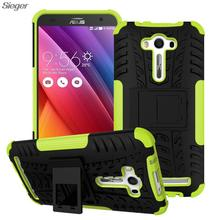 Asus Zenfone 2 Laser ZE550KL Case 5.5 Heavy Duty Hybrid Rugged TPU+PC Silicone Kick Stand Armor Shockproof Back Cover Funda - Sieger Technology Co., Ltd store