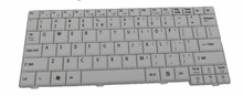 New US Keyboard White Teclado for Acer Aspire One D150 D250 Laptop Accessories Replacement Wholesale —K169-HK
