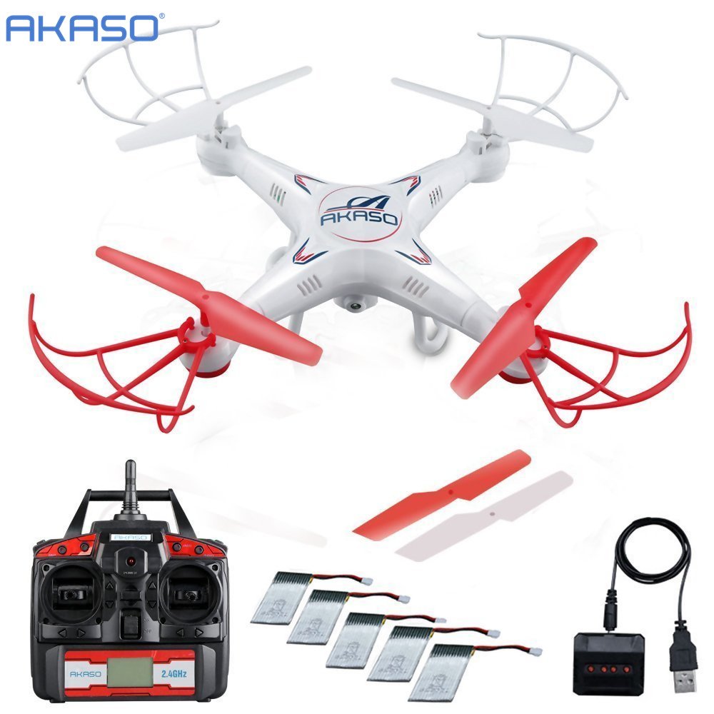 AKASO X5C 4CH 2.4GHz RC planes flying Drone with Camera HD Remote Control Airplane Quadcopter FPV UAV Professional hexacopter(China (Mainland))