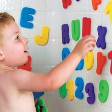 New Arrival Bath Tub Foam Letters Numbers Set 36pcs Children Learning Toy Educational Drop Shipping HG-1635(China (Mainland))