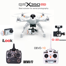 Original WALKERA QR X350 Pro GPS Drone 6CH Brushless DEVO F7 Transmitter RC Helicopter quadcopter support Gopro Hero 3 camera
