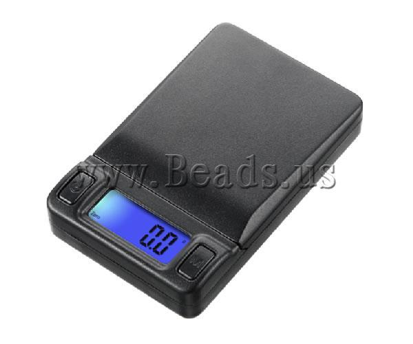 Free shipping!!!Digital Pocket Scale,Exquisite, ABS plastic, Rectangle, 115x65x22mm, Sold By PC