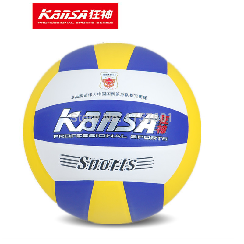 New size5 PU Seamless soft leather sewn sports volleyball outdoor/ indoor competition volleyball ball wholesale + dropshipping(China (Mainland))
