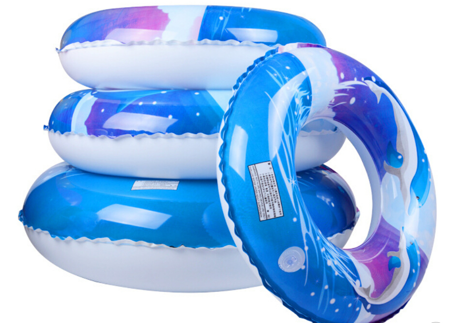2015 New 4 Size Swing Ring Adult /Child Dolphin Swim Ring Buoy Jumbo Inflatable Ring Baby Float Swimming Ring Free Shipping(China (Mainland))