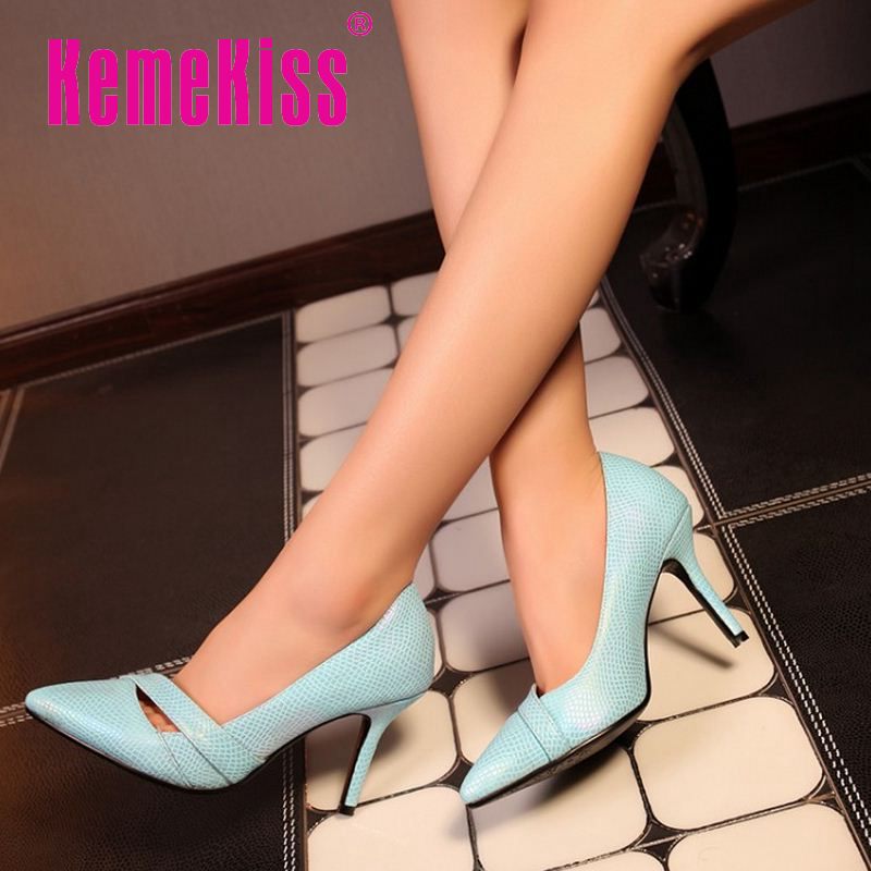women high heel shoes pointed toe spring fashion ladies party quality new design fretwork heels footwear size 32-44 P22931<br><br>Aliexpress