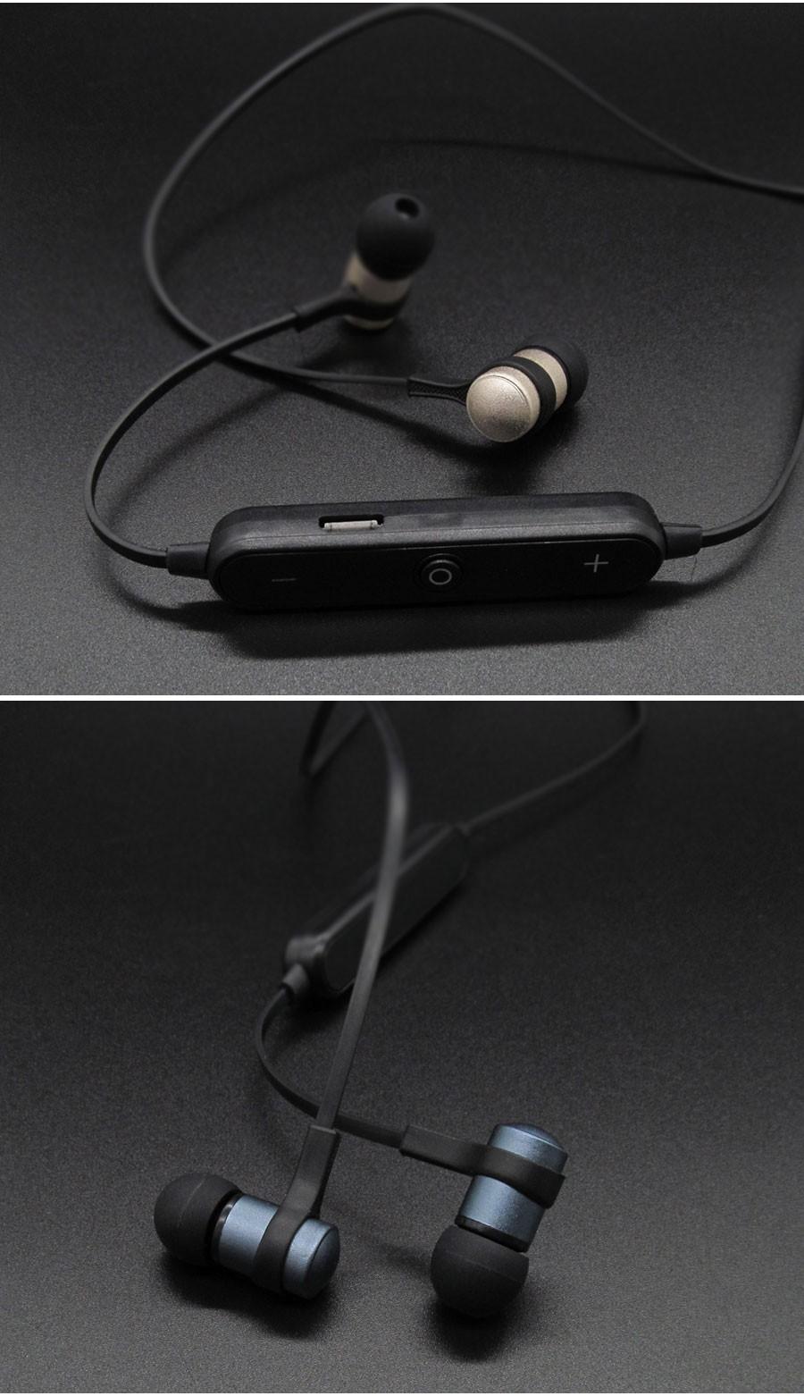 S6 1 Sport Wireless Bluetooth 4 1 Earphone Stereo Metal