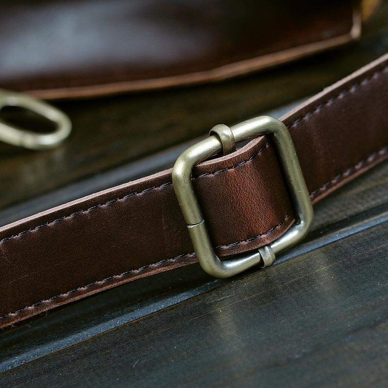 Vintage Men Business Faux PU Leather Briefcase Male Travel Causal Messenger Shoulder Portfolio Laptop Bags Lawer Handbag Bolsa (21)
