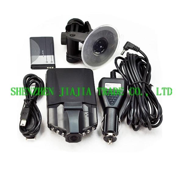H198 Car DVR Camera 1PCS + 8GB card 1pcs + Anti-Slip Mat 1pcs=1 lot 3 different ProductS free shipping(China (Mainland))