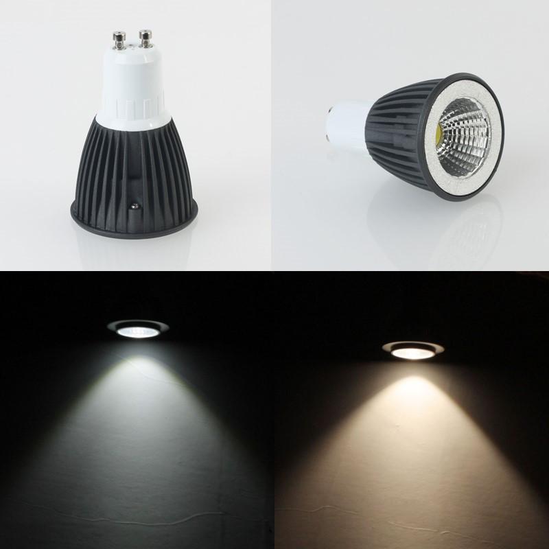 5pcs/Lot 4W/6W COB LED Bulbs Light Dimmer Warm White/Cool White High Brightness GU10 E27 LED Spotlight------Limited Time Offer<br><br>Aliexpress