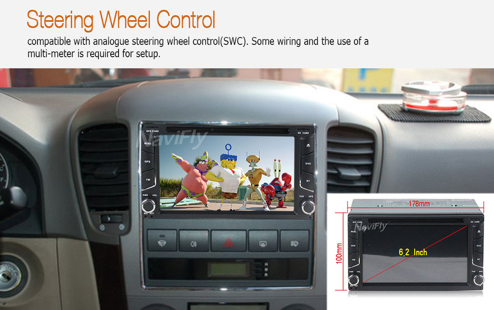 2din Android 7.1 car PC head unit for Universal double din with GPS Navigation bluetooth WIFI 4G LTE 2G RAM 16G ROM free ship