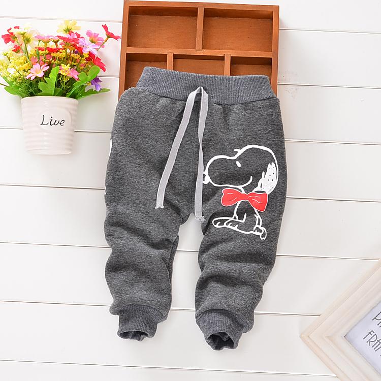 Гаджет  autumn winter cotton and wool Warm Korean cartoon style harem pants baby pants 0-2 year baby boy girl pants g None Детские товары