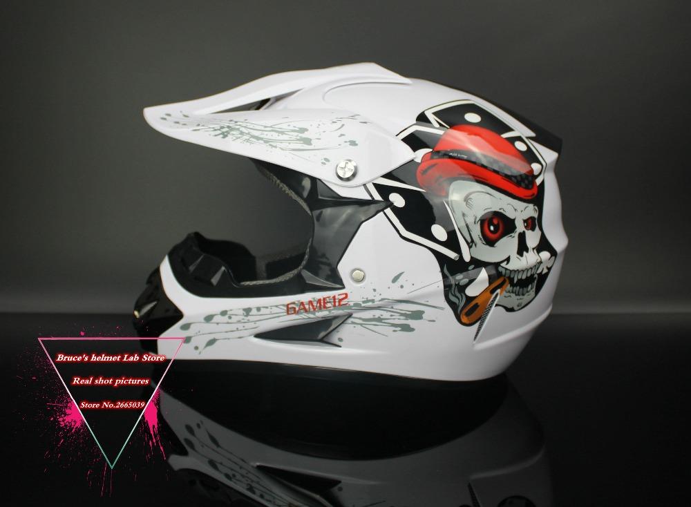 Motorcycle Helmet Dirt Bike Downhill Capacete Da Motocicleta Cascos Motocross Off Road Helmets ABS DOT XP125(China (Mainland))