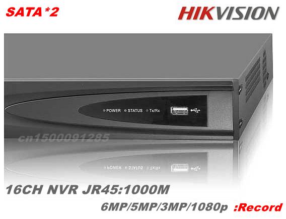 CCTV Видеорегистратор Hikvision NVR 16/hdmi NVR 6MP /5 /3mp 1000 SATA * 2 4 16n/e2 16N-E2