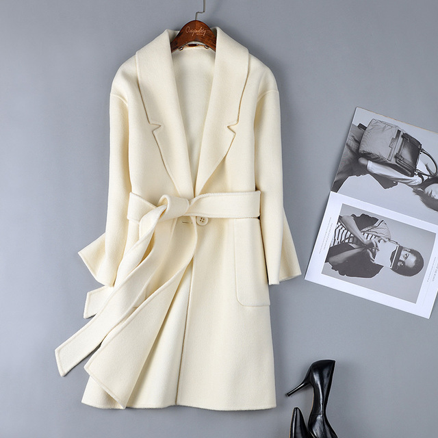 White Wool Coat | Gommap Blog