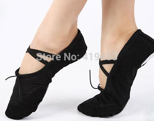 4 Color Womens Professional Soft Flats Peep Toes Ballet Dance Shoe Ladies Girls Belly Dancing Shoes A423(China (Mainland))