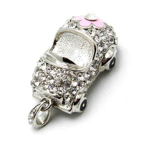 High Quality 1pc/Lot Crystal Jewelry Mini USB Flash Pen Drive Memory Stick U Disk Pendrive/Thumb Drive/Car Drives Driver Gift(China (Mainland))