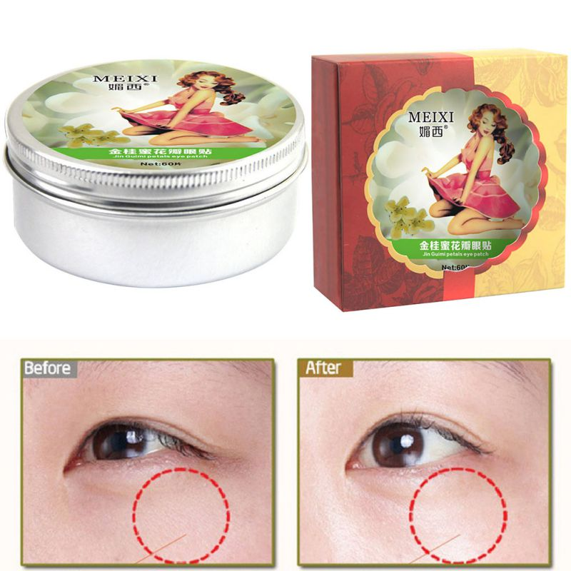 60 PCS A Box Golden Osmanthus Eye Mask Care Wrinkle puffiness Dark Circles Bags MM56LH7<br><br>Aliexpress
