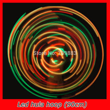 1pcs lot Free Shipping Diameter 90 CM LED Hula Hoop 28 Pieces Of LED Sports Exercise