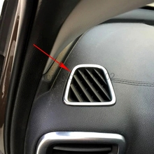 Buy Sportage kx5 2016 2017 2pcs Chrome Car Interior Front Upper A/C Air Condition Vents Outlet Trim Bezel Cover for $11.04 in AliExpress store